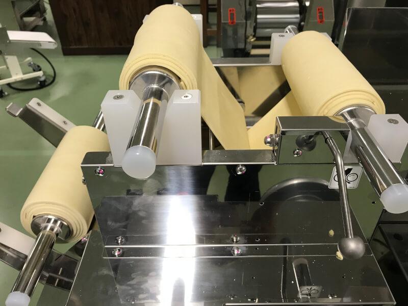 combining process on a ramen machine
