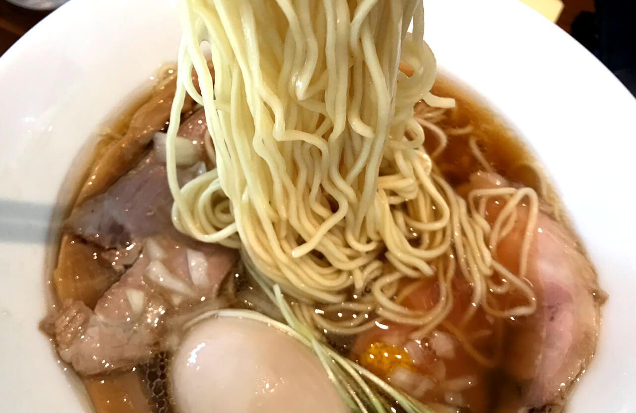 Cutting affects textures and other properties of noodles