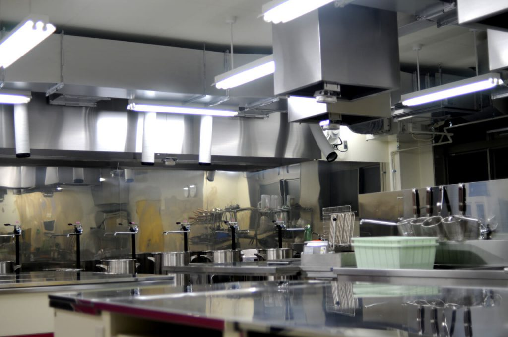 Test kitchen at our labs to create different types of ramen, udon, soba noodles and dishes