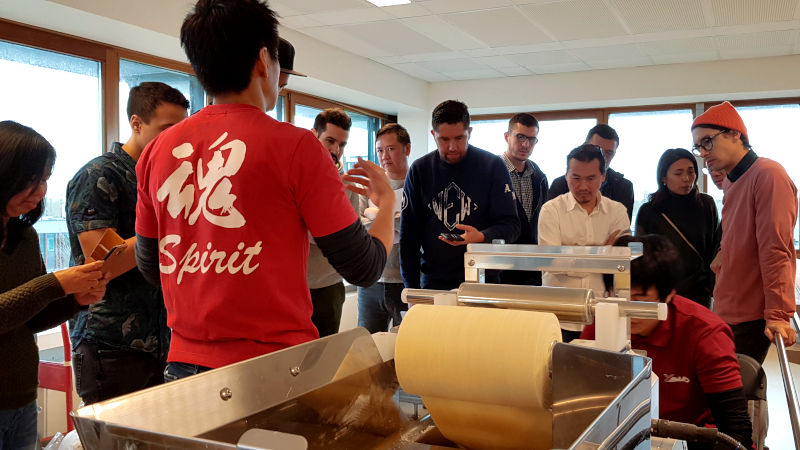 noodle making class