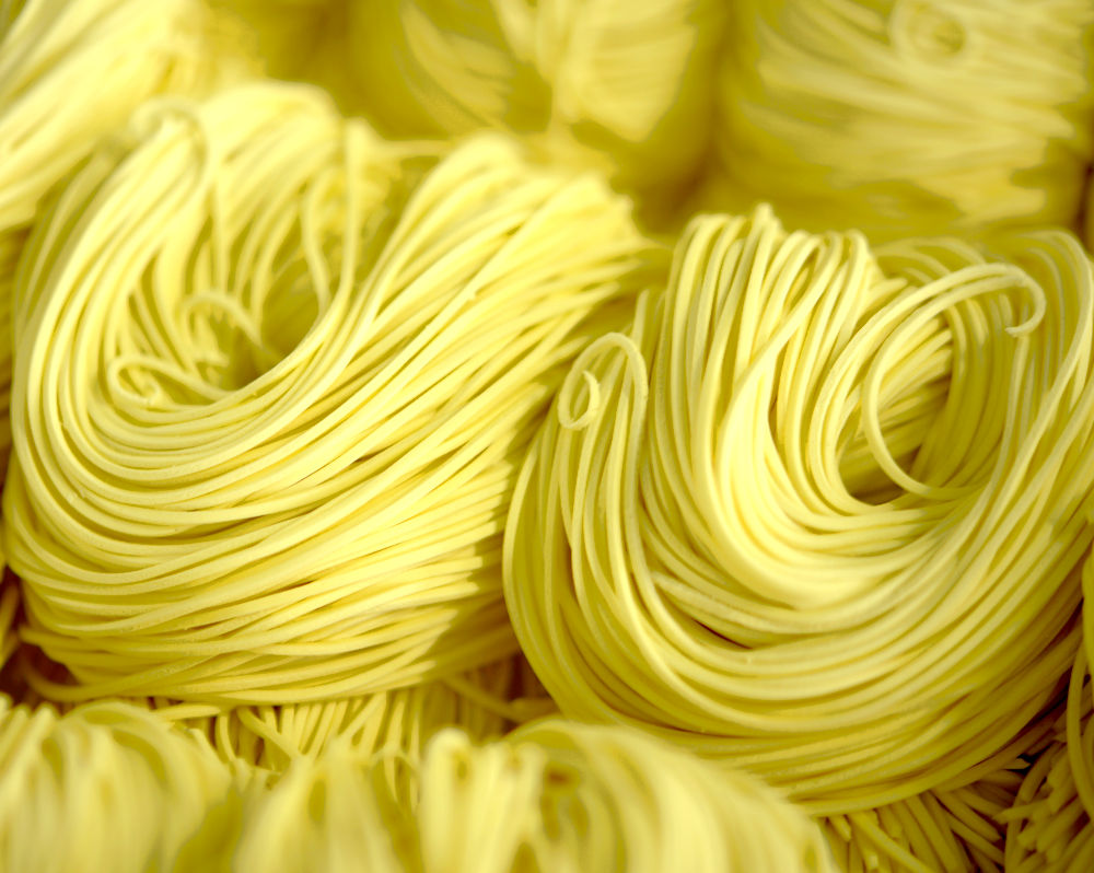 homemade noodles for restaurant