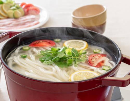 healthy udon noodles