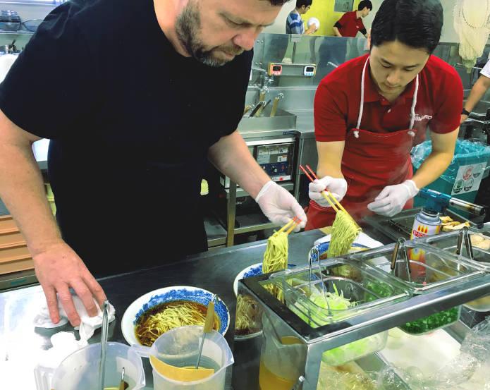 ramen restaurant school