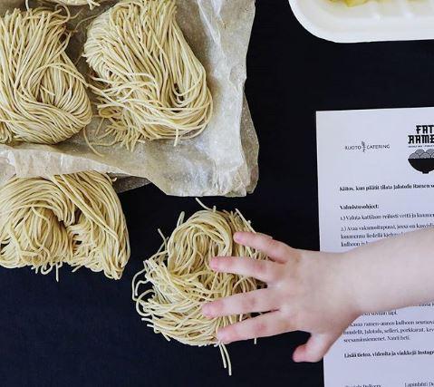 commercial machine for craft ramen noodles
