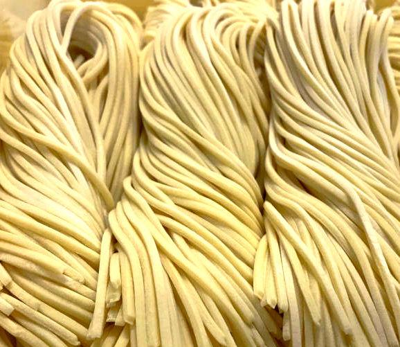 Japanese tsukemen noodles