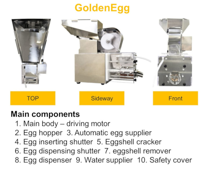 GoldenEgg specifications