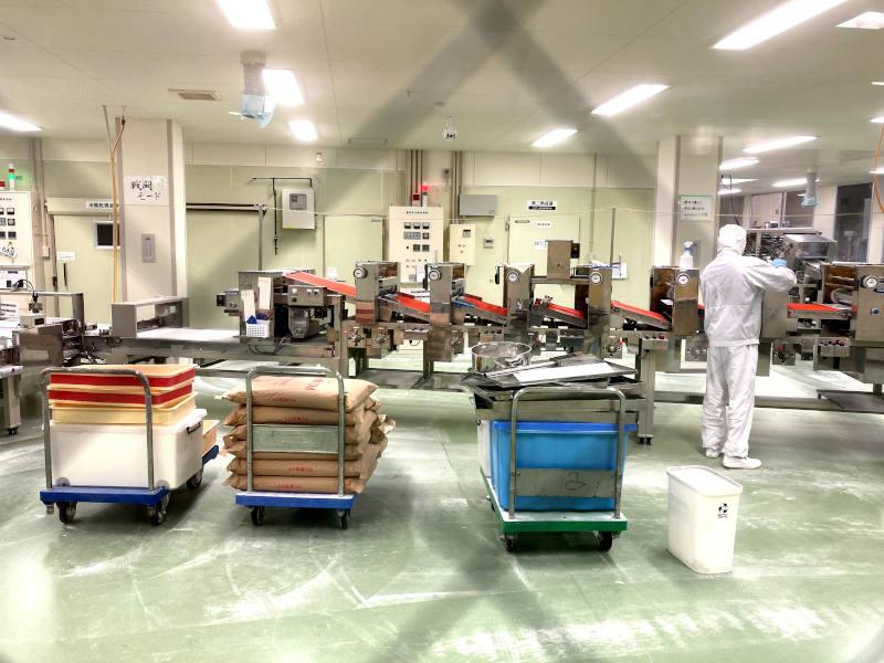 equipment for ramen factory
