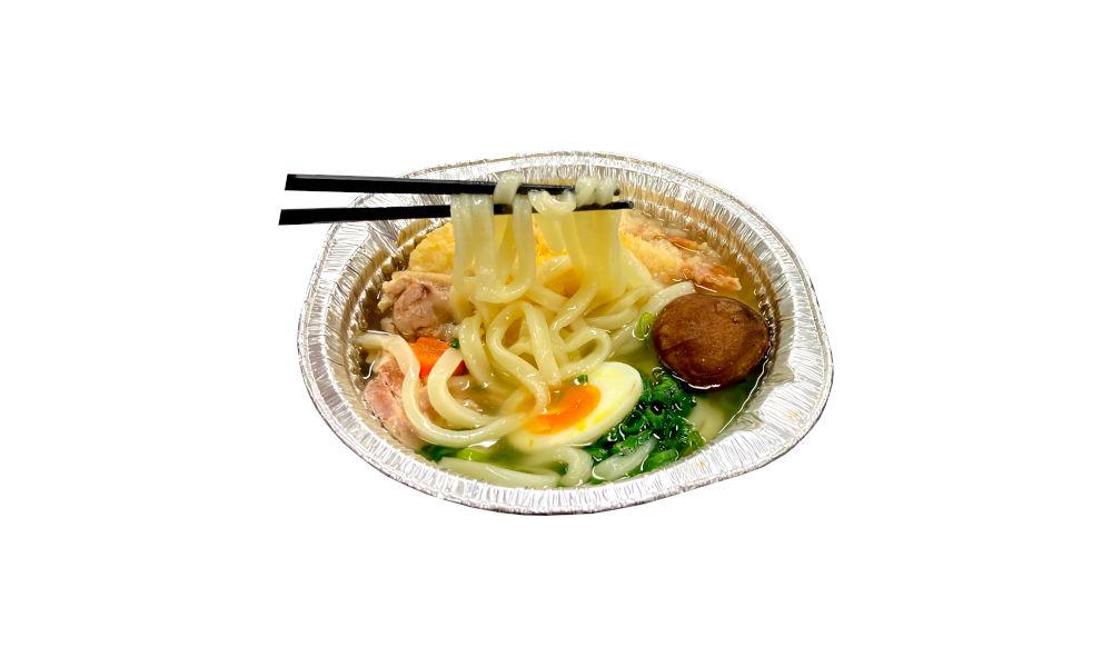 making noodles for noodle meal kits