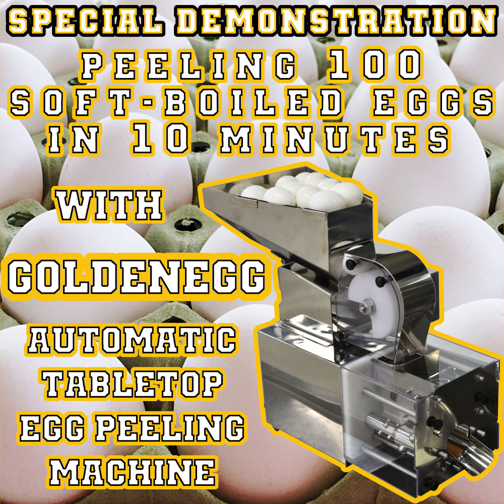 egg peeling machine for restaurants