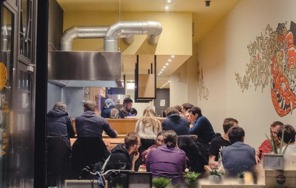 yamato noodle ramen machine in belgium