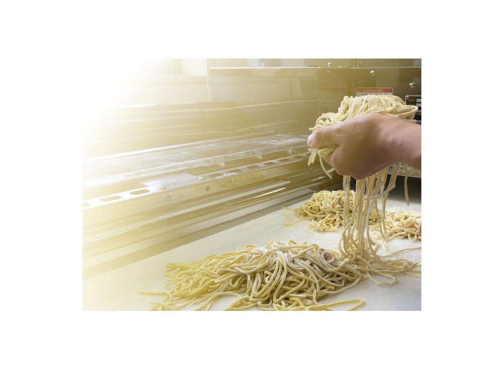ramen made on udon machine