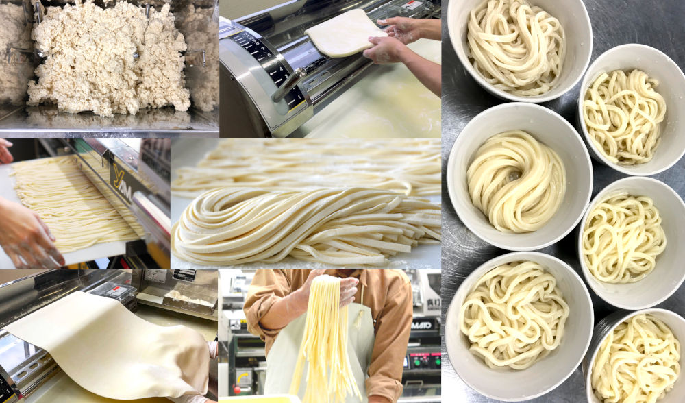 how to make Japanese udon noodles