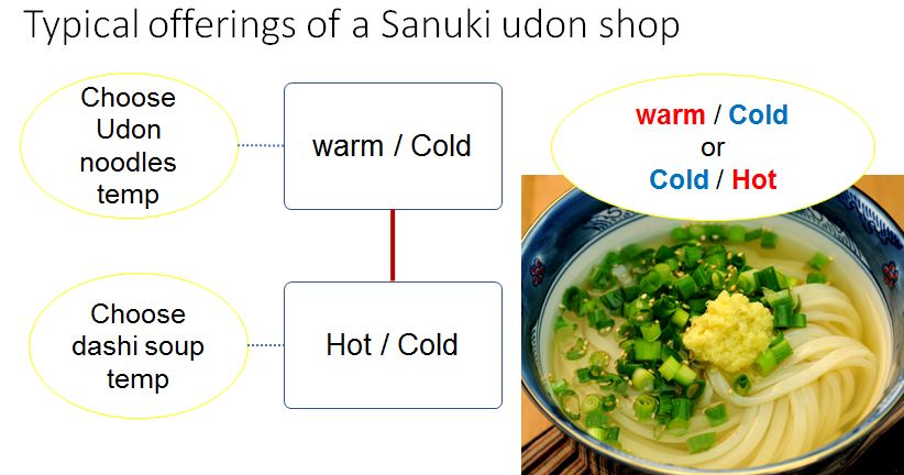 udon dish toppings