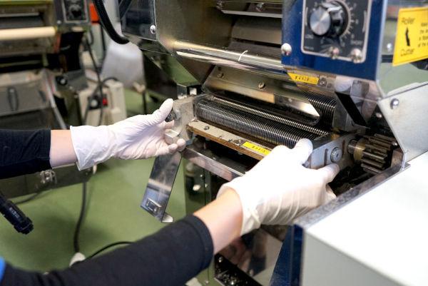 cutter for a ramen machine