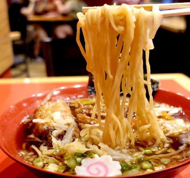 craft ramen noodles made on a specialized ramen machine