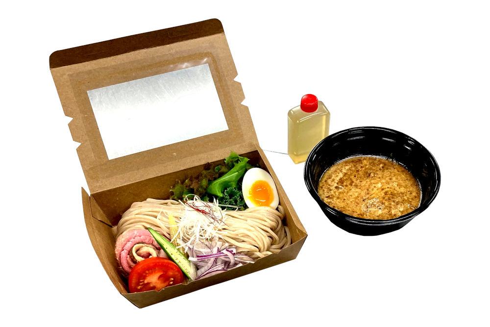 tsukemen noodles for takeout menu