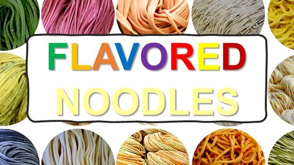 online workshop title flavored noodles